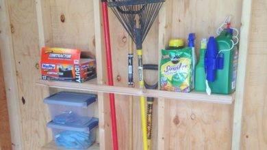 14 Best Garage Storage For Garden Tools From Old Pallet