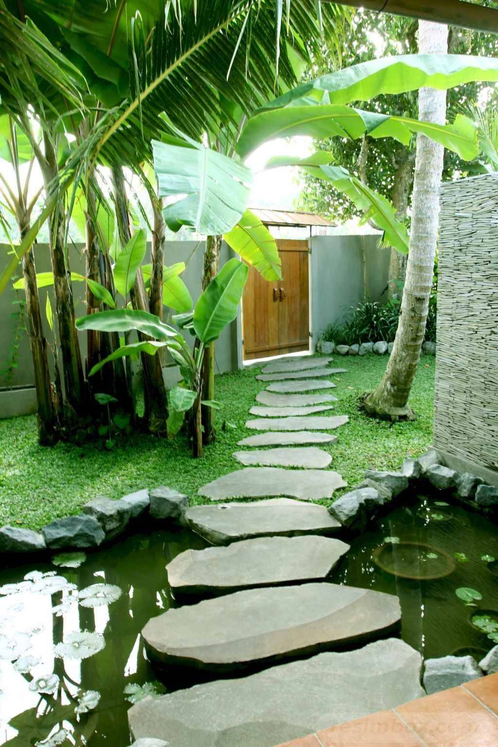 17 Perfect Tropical Garden Ideas For Big Family