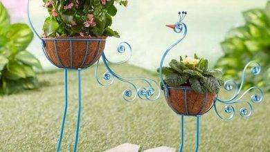 18 Most Popular Make A Spilled Flower Pot: Garden Design Idea